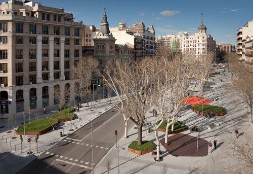 Plaza de Santa Bárbara de Madrid